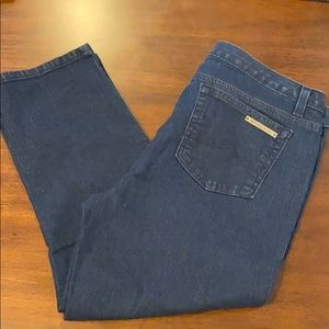 MICHAEL KORS Skinny Jeans 10 Dark Denim Stretch